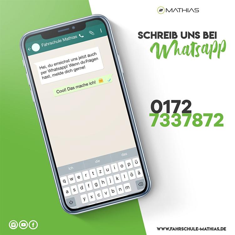 Fahrschule Mathias bei WhatsApp